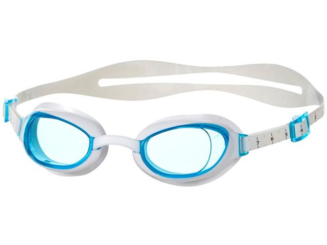 speedo Aquapure Brille Damen white/blue